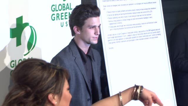 daren kagasoff at the global green usa's 6th annual preoscar party benefiting green schools at los angeles ca - pre party stock videos and b-roll footage
