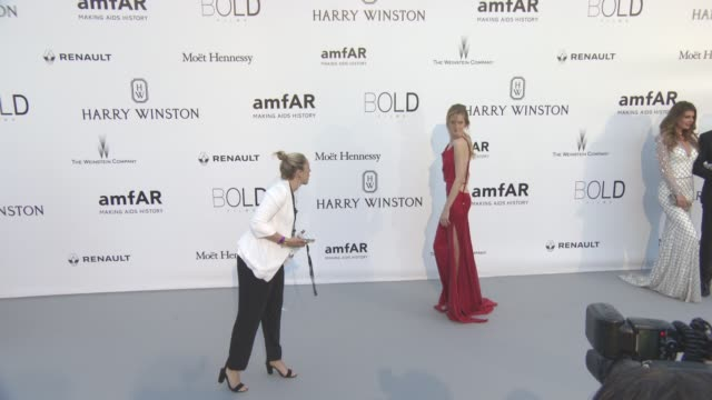 Daria Strokous at amfAR's 23rd Cinema Against AIDS Gala Arrivals at Hotel du CapEdenRoc on May 19 2016 in Cap d'Antibes France