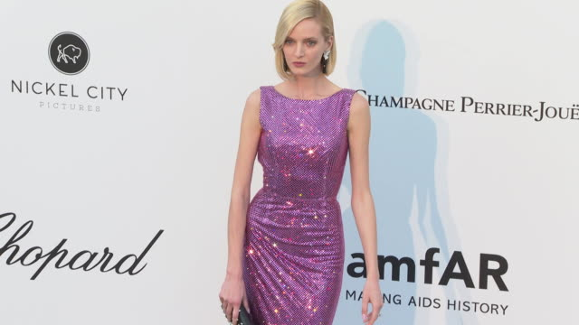 Daria Strokous at the amfAR Cannes Gala 2019 Arrivals at Hotel du CapEdenRoc on May 23 2019 in Cap d'Antibes France