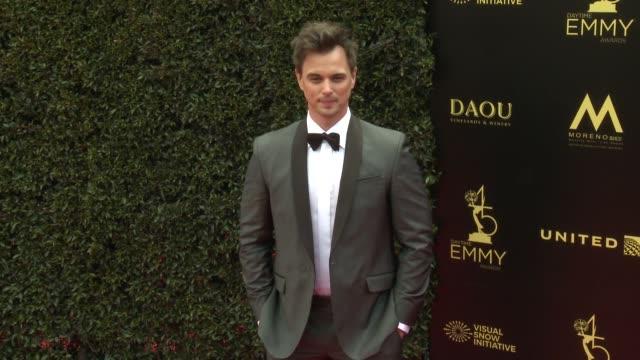 Darin Brooks at the 2018 Daytime Emmy Awards at Pasadena Civic Auditorium on April 29 2018 in Pasadena California