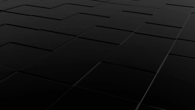 Dark 3D cubes abstract background