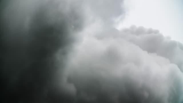 dark clouds - emitting stock videos & royalty-free footage