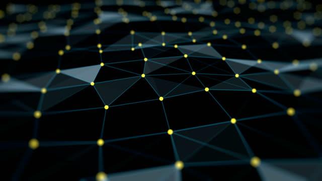 vídeos y material grabado en eventos de stock de conexión oscura (loopable) - estructura molecular