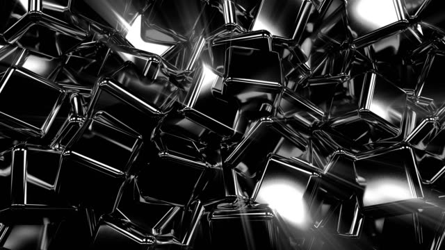 dark cubes background loop - performing arts event stock videos & royalty-free footage
