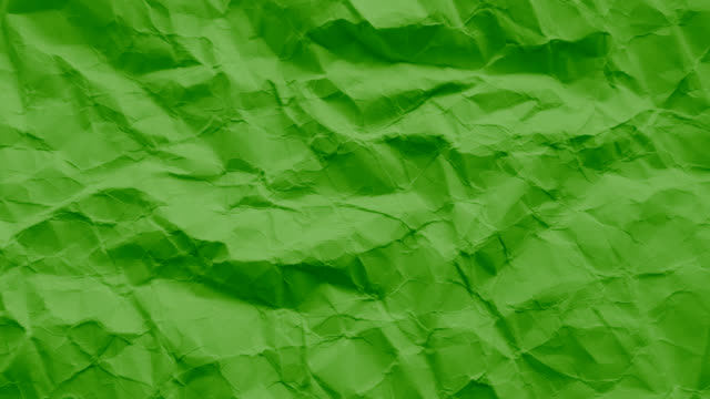 Dark Green paper texture wrinkled