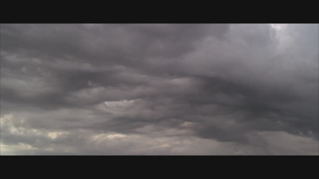 ws, dark grey storm clouds - overcast stock videos & royalty-free footage