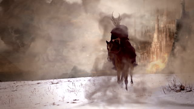 dark horseman HD slowmotion