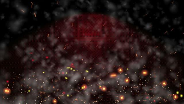 Dark Industrial Background Loop