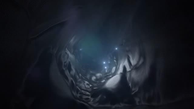 dark liquid tunnel