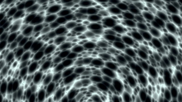 """Dark matter waves, abstract animation"""