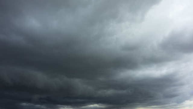 dark storm clouds passing - overcast stock videos & royalty-free footage