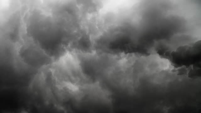 dark storm clouds - storm cloud stock videos & royalty-free footage