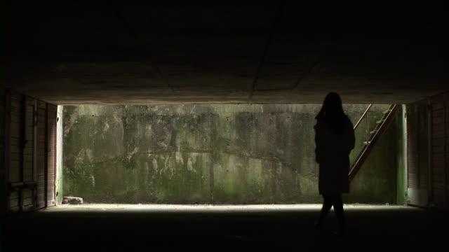 vídeos de stock, filmes e b-roll de hd: escuro de metrô - prostituta