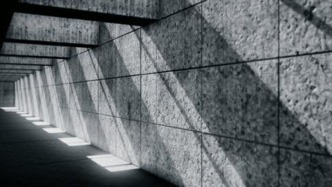 stockvideo's en b-roll-footage met donkere ondergrondse tunnel-verlaten ondergrondse garage - omwalling