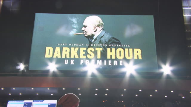 CLEAN 'Darkest Hour' UK Premiere at Odeon Leicester Square on December 11 2017 in London England