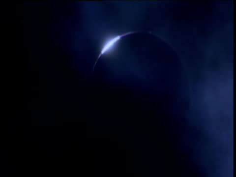 Darkness engulfs sun during solar eclipse