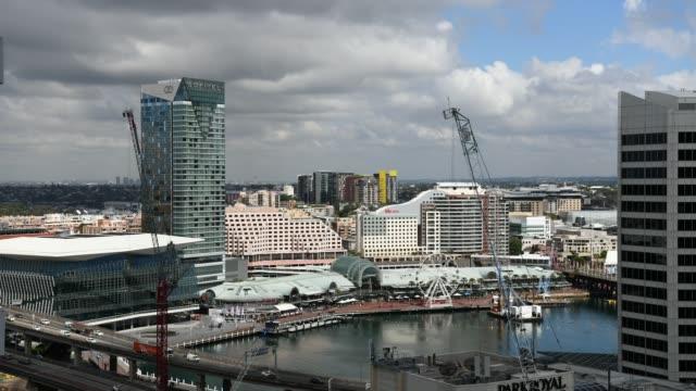 Darling Harbour Sydney time-lapse