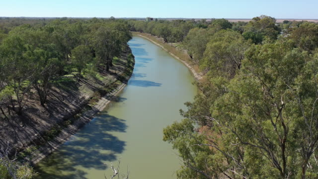 darling river - river stock videos & royalty-free footage