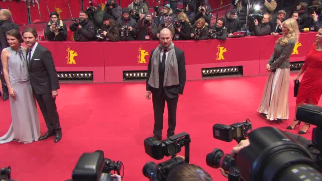 darren aronofsky at gala award ceremony 65th berlinale red carpet 65th berlin film festival at berlinale palace on february 14 2015 in berlin germany - darren aronofsky stock videos and b-roll footage