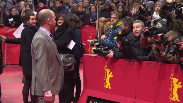 darren aronofsky at 'knight of cups' red carpet 65th berlin film festival at berlinale palast on february 08 2015 in berlin germany - darren aronofsky stock videos and b-roll footage