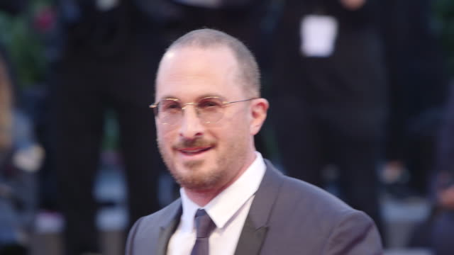 darren aronofsky at 'mother' red carpet 74th venice international film festival at palazzo del casino on september 05 2017 in venice italy - darren aronofsky stock videos and b-roll footage