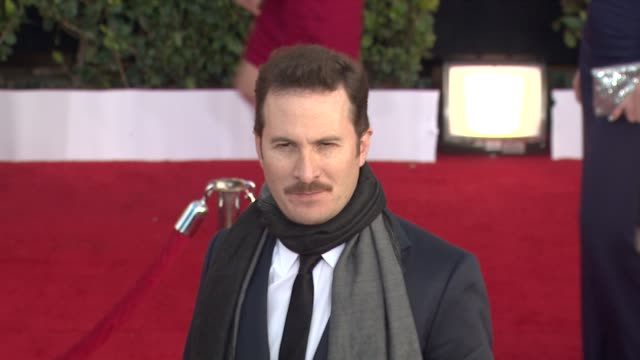 darren aronofsky at the 17th annual screen actors guild awards arrivals part 2 at los angeles ca - darren aronofsky stock videos and b-roll footage