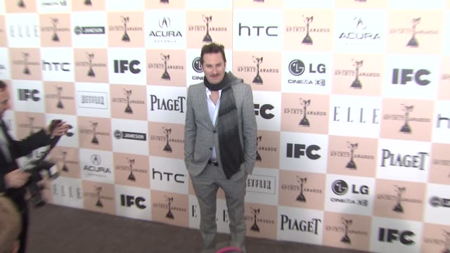 darren aronofsky at the 2011 independent spirit awards arrivals part 2 at santa monica ca - darren aronofsky stock videos and b-roll footage