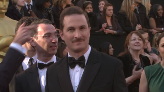 darren aronofsky at the 83rd annual academy awards arrivals pool cam at hollywood ca - darren aronofsky stock videos and b-roll footage