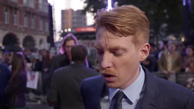 darren aronofsky domhnall gleeson and jennifer lawrence attend the mother premiere at leicester square london includes interviews and footage of all... - darren aronofsky stock videos and b-roll footage