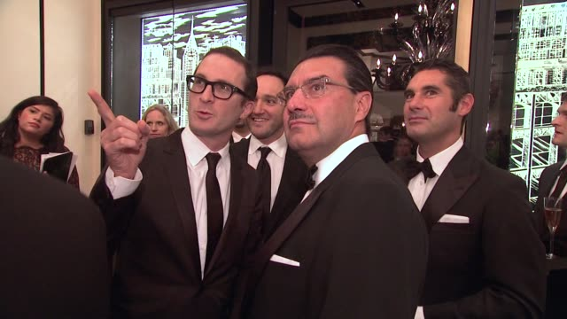 darren aronofsky gregg bello juan carlos torres and hugues de pins at the vacheron constantin celebrates grand opening of first ever us boutique at... - darren aronofsky stock videos and b-roll footage