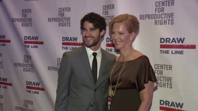 Darren Criss and Nancy Northup at The Center for Reproductive Rights hosts the 2015 Gala at the Museum of Modern Art at Museum of Modern Art on...