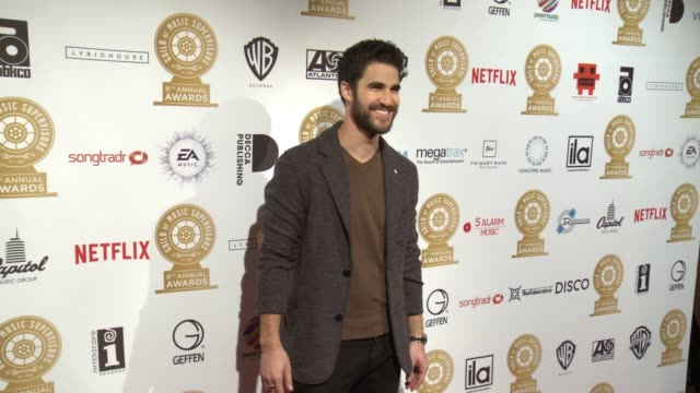 Darren Criss at 8th Annual Guild of Music Supervisors Awards in Los Angeles CA