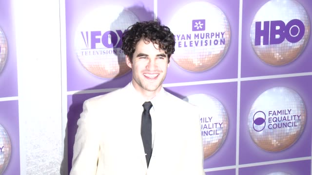 Darren Criss at Family Equality Council's Los Angeles Awards Dinner at The Beverly Hilton Hotel on February 28 2015 in Beverly Hills California