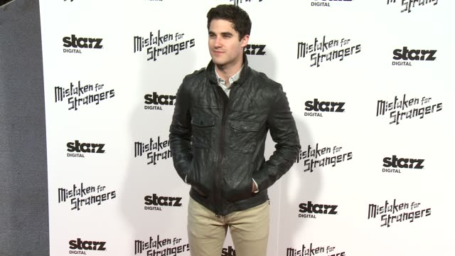 Darren Criss at 'Mistaken For Strangers' Los Angeles Screening at The Shrine Auditorium on March 25 2014 in Los Angeles California
