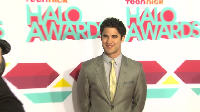 Darren Criss at TeenNick HALO Awards in Los Angeles CA
