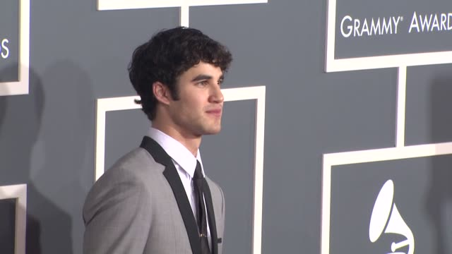 Darren Criss at the 53rd GRAMMY Awards Arrivals Part 2 at Los Angeles CA