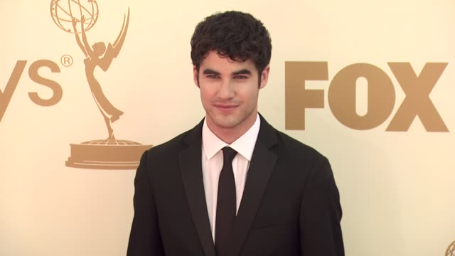 Darren Criss at the 63rd Primetime Emmy Awards Arrivals Part 1 at Los Angeles CA