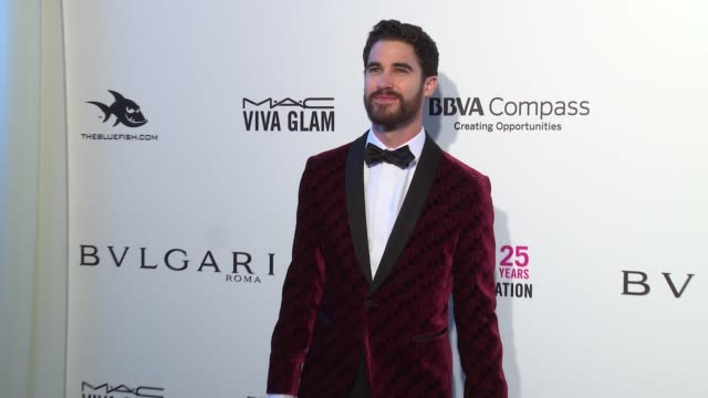 Darren Criss at the Elton John AIDS Foundation Presents the 26th Annual Academy Awards Viewing Party on March 04 2018 in West Hollywood California