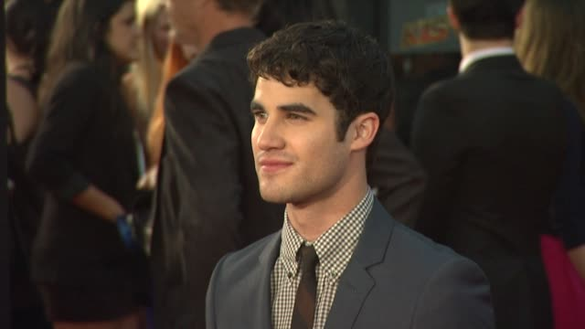 Darren Criss at the 'GLEE The 3D Concert Movie' Los Angeles Premiere at Westwood CA