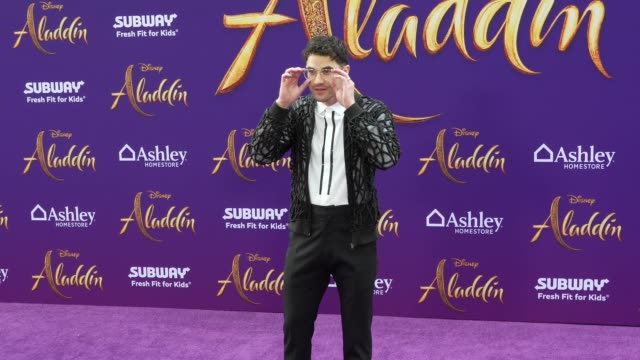 Darren Criss at the world premiere of Disney's Aladdin held at the El Capitan Theatre on May 21 2019 in Los Angeles California