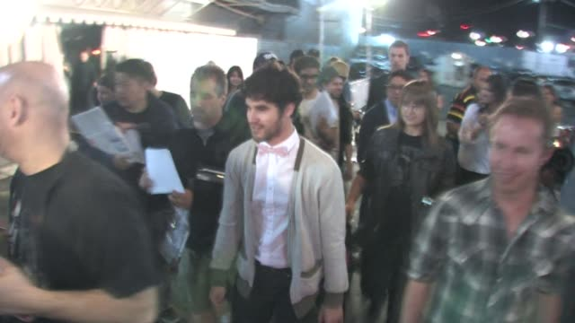 Darren Criss departs the NYLON Magazine May Young Hollywood Celebration in Los Angeles 05/04/11