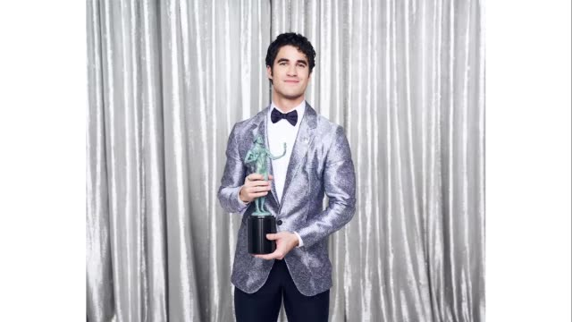 darren criss, winner of outstanding performance by a male actor in a miniseries or television movie in 'the assassination of gianni versace: american... - shrine auditorium stock videos & royalty-free footage