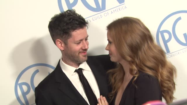 Darren Le Gallo Amy Adams at the 2011 Producers Guild Awards at Beverly Hills CA