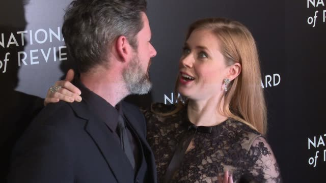 darren le gallo and amy adams at national board of review gala at cipriani 42nd street on january 04, 2017 in new york city. - cipriani manhattan stock videos & royalty-free footage