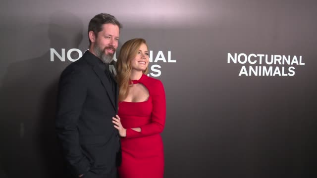 Darren Le Gallo and Amy Adams at 'Nocturnal Animals' New York Premiere Presented By Focus Features at The Paris Theatre on November 17 2016 in New...
