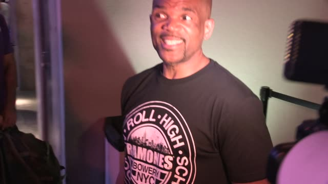 darryl mcdaniels at the 2014 san diego comic-con party at the hard rock hotel at celebrity sightings in san diego on july 24, 2014 in san diego,... - darryl mcdaniels stock videos & royalty-free footage