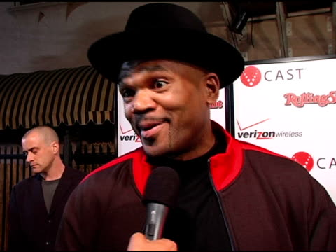darryl mcdaniels at the rolling stone/verizon wireless pre-grammy concert with kanye west at avalon in hollywood, california on february 6, 2006. - darryl mcdaniels stock videos & royalty-free footage