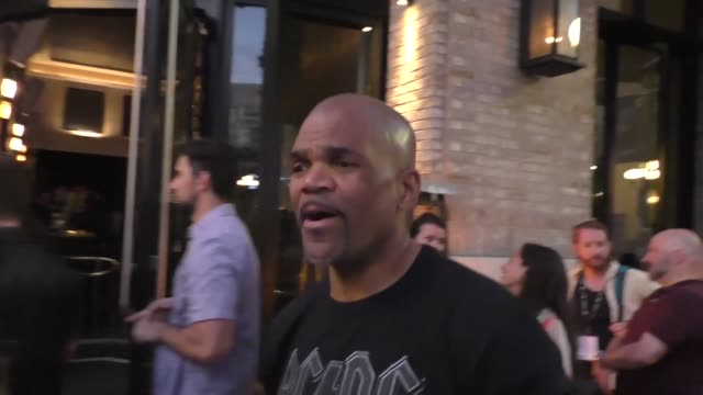 darryl mcdaniels of run-d.m.c. on his plans on day 2 of san diego comic-con international at celebrity sightings in san diego on july 19, 2019 in san... - darryl mcdaniels stock videos & royalty-free footage