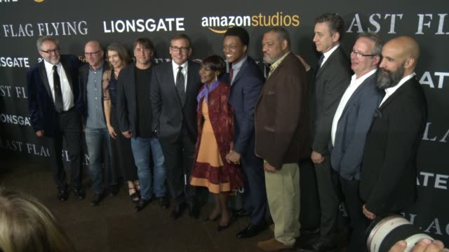 Darryl Ponicsan Richard Linklater Cicely Tyson J Quinton Johnson Laurence Fishburne at Amazon Studios and Lionsgate Present The Los Angeles Premiere...