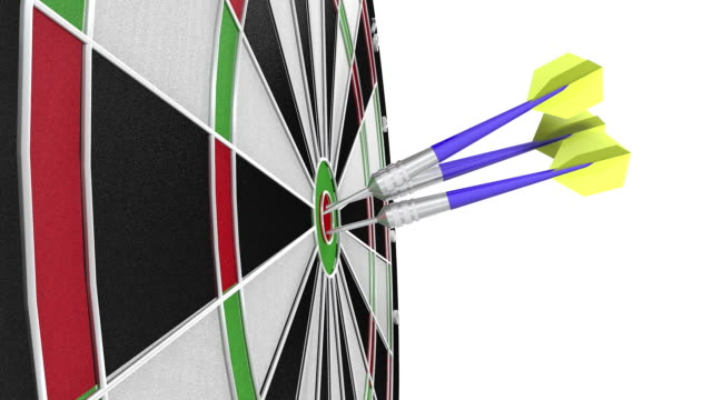 dart game - dart board stock videos & royalty-free footage